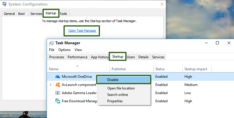 how to open task manager on windows 8.1